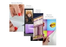 YouTac, adhésif repositionnable - <p>Nous vous présenterons YouTac, un produit vraiment remarquable,<br />indéfiniment repositionnable ASP (Adhésif Sensible à la Pression)<br />développé par les spécialistes de l'innovation : l'équipe maintes fois<br />récompensée d'Innova Art. YouTac convient à de nombreux matériaux at<br />adhérera à toutes les surfaces non-poreuses et à de nombreuses surfaces<br />poreuses. Il peut être retiré et réappliqué plusieurs fois sans<br />détèriorer les murs ou autres surfaces. Encore mieux, YouTac ne laisse<br />aucun résidus après avoir été retiré, ce qui signifie plus de temps<br />perdu à réparer les dégats quand les installations graphiques ont été<br />retirées. Le textile YouTac est disponible en version Aqueuse ou<br />éco-solvant/Latex/UV, pour de nombreuses applications, allant des<br />affichages promotionnels, jusqu'à la décoration intérieure.</p>