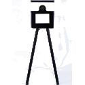 Yodabooth LITE - La Yodabooth Lite a été conçu pour les opérateurs. Sa construction légère mais robuste facilite le transport. La Lite est équipée d'un appareil photo Canon 2000 D, d'une tablette Microsoft Surface Pro et d'une imprimante DNP DS620.