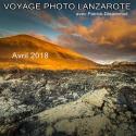 """Voyage photo : Lanzarote, l'île aux Volcans. - <p>Voyage photo: Lanzarote, l'île aux 300 Volcans - du 21 au 28 avril 2018 (8 jours). Lanzarote, aussi nommée la """"Perle noire des Canaries"""" (en raison de la couleur de la cendre volcanique qui recouvre son sol dans certaines régions), ou """"l'île aux 300 volcans"""", est la plus volcanique des îles Canaries. Les paysages y sont spectaculaires, assez analogues à ceux de l'Islande par endroits, mais bénéficiant d'un climat bien plus agréable au printemps (20-25 ° C), et partiellement recouverts d'une flore endémique très intéressante (euphorbiacées, cactées). Des paysages riches de possibilités graphiques, en couleur ou N&B. Voyage conçu par Patrick Dieudonné, photographe professionnel, organisation et assistance sur place Huwans.</p>"""