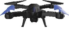 Midrone Vision 220 - <p>Drone pliable avec caméra HD720p intégrée. Temps de vol de 8 à 10 minutes. Fonctions auto-décollage, auto-atterrissage, maintien de l'altitude. Retour vidéo en temps réel sur smartphone. Pilotage par télécommande fournie au par smartphone avec l'application Midrone 220 pour iOS ou Android. Egalement disponible en version VR avec lunettes de réalité virtuelle et pochette de rangement.</p>