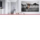 Alu brossé  - <p>Originale et très moderne, l'impression sur aluminium brossé donne un effet métallique aux photographies. La technique d'impression permet de remplacer le blanc par la texture de l'aluminium. Très élégant, robuste et léger, ce type d'impression attire le regard et est idéal pour la décoration d'intérieur.</p>