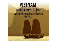 Voyage photo au Vietnam du nord et du Centre - <p><strong>Un</strong><strong>voyage photo au Vietnam, nouveau et original, qui vous emmènera du nord au centre du pays</strong> dans des sites variés et somptueux. Vous découvrirez ainsi la mythique <strong>baie d'Halong</strong> à bord d'une réplique de jonque véritable ainsi que la splendide «<strong>baie d'Halong» terrestre</strong> où les pitons rocheux trônent au milieu des <strong> rizières. </strong>Au centre du pays, <strong>la Cité impériale de Hué, </strong>berceau des derniers empereurs d'Annam et<strong> la ville-musée de Hoi An – </strong>un ancien comptoir japonais miraculeusement préservé vous montreront<strong> les richesses archéologiques du pays.</strong> Nous visiterons aussi l<strong>'une des plus grandes grottes du pays, soit 4 sites classés au patrimoine mondial de l'UNESCO</strong>.</p> <p><strong>Le Vietnam est pour moi le plus envoûtant pays d'Asie du sud-est.</strong> Je l'ai visité pour la première fois en 1990 et suis tout de suite tombé sous le charme. Vingt-six ans plus tard, la magie opère toujours. <em>Philippe Body (photographe accompagnateur)</em></p> <p><strong></strong></p>