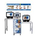PRINT CENTER LIGHT - <p>Un centre de photos pour les détaillants</p> <p><strong><strong>Une solution ergonomique pour un self-service dans votre magasin.</strong></strong></p> <p>Le PrintCenter Light est un système photo ergonomique personnalisable selon vos besoins. Il comporte jusqu'à trois bornes de prise d'ordres, un logiciel photo intelligent et ludique pour vos clients, et un module self-service incluant un mécanisme de paiement sécurisé facile à intégrer à vos magasins.</p> <p>Le PrintCenter Light est conçu pour les points de vente de taille moyenne fortement fréquentés. Construit comme une borne photo, il s'intègrera facilement dans un espace photo réservé de votre magasin, attirera vos clients et deviendra l'un de vos services les plus prisés!</p> <p>Parlez-nous de vos projets photo, et nous adapterons le PrintCenter à vos besoins!</p>