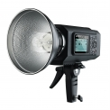 Godox Witstro AD600M - <p>Godox have announced the AD600 Witstro, an all in one 600WS Lithium-ion powered TTL and HSS enabled portable strobe, with both Canon and Nikon compatible 2.4GHz radio receiver units built inside.<br /><br />Like the recently released AD360 II Witstro, the new AD600 can be controlled with full TTL, HSS, and remote manual power control via the recent 2.4GHz Godox X1 transmitter units, or master speedlite units like the TT685 (and V series Lithium-ion versions likely to come).</p>