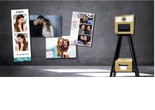 Tiny Selfie by KIS - Faites de vos événements un moment inoubliable grâce à la Tiny Selfie !  Une borne avec un concept 2en1 unique :  - Shooter, imprimer les plus beaux selfies en quelques secondes - Imprimer instantanément les photos depuis un smartphone Légère, démontable et compacte, la borne vous permet d'optimiser votre espace ou l'agencement de vos événements. De plus, la hauteur des pieds peut être facilement ajustée pour s'adapter à tous les publics (PMR, enfants, etc...). De la personnalisation des templates photo et du logiciel aux formats d'impression multiples et tendances, la Tiny Selfie est définitivement l'animation qui crée la différence. Choisissez la en champagne ou orange !