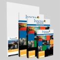 Gamme Photo Art, le must des papiers photo - <p>La collection Photo Art d'Innova propose une gamme complète de papiers<br />semi-mats et brillants spécialement couchés pour l'impression en jet<br />d'encre aqueux. La gamme est articulée autour de produits RC trés<br />demandés mais également des papiers de la fameuse gamme FibaPrint®<br />élaborés à parti des papiers barytés utilisés en argentine dans la<br />chambre noire au siècle dernier. Tous ces produits sont préparés dans<br />notre usine de conversion, garantissant que la qualité est bien contrôlée.</p>