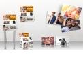 Speedlab Mini  - <p>Une borne innovante qui révolutionne le marché du développement photos</p> <p>Debout, sur comptoir ou accrochée au mur, vous pouvez placer ce kiosquepartout :la Speedlab® miniestultra-compacte, simple et modulable,seulement 0,20 m² de prise au sol, pour un poids de 31 Kg !Offrez uneexpérience client intuitive: le client connecte son Smartphone ou sa clé USB sur la borne, sélectionne ses photos, procède aupaiement sans contactet le tour est joué. Des photos 10 x 15 cmimprimées instantanément !</p>
