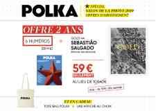 """Abonnement 2 ans - Offre 2 ans d'abonnement à 59€.  Détail : 6 numéros + """"Gold"""" de Sebastião Salgado (Editions Taschen) + 1 affiche + 1 Tote Bag."""