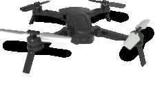 Midrone Bee 520 - <p>Drone pliable avec moteur brushless et positionnement par GPS/Glonass. Equipé de la technologie Optical Flow pour une meilleure stabilité de vol en intérieur. Caméra HD1080p. Fonctions Follow Me, Waypoint, Retour maison, Circle, auto-décollage et atterrissage. Temps de vol max. de 15 minutes. Contrôle par télécommande fournie ou par smartphone via l'application Midrone Bee 520 pour iOS et Android. Pack batterie facilement interchangeable.</p>