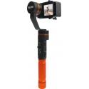 ROLLEI PRO ACTIONCAM GIMBAL -  STABILISATEUR 3 AXES  - <p>Stabilisateur 3 axes pour action cams<br />Capturez des vidéos d'une seule main sans<br />mouvement,pour des prises de vue fluides, stables et un rendu<br />professionnel.<br /><br />Rotations à 360° sur les 3 axes<br />3 modes de fonctionnement<br />(panoramique, panoramique horizontal/<br />vertical, mode verrouillage)<br />Commande par joystick intégré - 5 fonctions<br />(haut, bas, droite, gauche et bouton de mode)<br />Léger et compact<br />Application smartphone gratuite pour<br />iOS et Android</p>