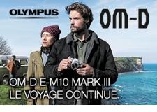 E-M10 MARK III - <p>Olympus lance l'OM-D E-M10 Mark lll, le dernier modèle de sa gamme primée OM-D. Admirablement conçu et intégrant bon nombre des technologies de référence qui ont fait la renommée des autres modèles de la ligne OM-D, l'E-M10 Mark lll invite les photographes à franchir une nouvelle étape dans leur découverte des plaisirs de la photo.</p> <p><strong>Convaincu qu'il deviendrait un classique parmi les appareils modernes, Olympus a apporté beaucoup de soin à la conception de l'E-M10 Mark lll, afin d'en faire le parfait accessoire de voyage. Léger et simple à utiliser, cet appareil photo a été doté de commandes intuitives visant à aider les photographes à prendre instantanément des photos superbes de netteté et des vidéos parfaitement fluides</strong></p>
