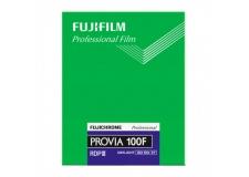 FUJI PROVIA 100F 4X5 INCH - <p>Vous l'avez souhaité ? FUJIFILM l'a fait, LA PROVIA 100F existe en plan film 4X5 inch !Le film Fujichrome offre une qualité professionnelle en créant desimages aux détails très fins permettant de grands élargissements ainsi que d'autres travaux nécessitant un grossissement élevé grâce au grain ultra fin des films inversibles couleur 100ISO.<br /><br />Des restitutions des couleurs très satisfaisantes, qui fournissent des primaires extrêmement brillantes sans sacrifier les tons pastels délicats, pour une très vaste application.De belles reproductions délicates des dégradés avec une superbe profondeur, grâce à sa lumière brillante, sans distorsion, et son excellente linéarité de dégradés des jeux d'ombres et de lumières.<br /><br />Une meilleure résistance à la perte de rapidité du film et un plus grand équilibre des couleurs au cours de longues expositions, ainsi que des performances multi-expositions toujours t</p>