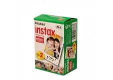 FUJI INSTAX MINI X2 - <p>Film Instax Mini aux contours blancs.<br />Des images nettes et lumineuses avec des tons chairs naturels, et des couleurs vives !<br />Très stable, l'émulsion supporte des écarts de température de 5° à 40°C.</p> <p>Format carte de crédit, idéal pour les ranger dans votre portefeuille.<br />Livré en deux cartouches de 10 photos.</p> <p>Compatible avec les appareils photos Fujifilm : Instax Mini 7S, Instax Mini 8, Instax Mini 25, Instax Mini 50, Instax Mini 90, Instaxshare SP1, Instx mini 70 et Polaroid PIC 300.</p>