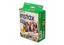FUJI INSTAX WIDE X2 - <p>Film Instax Wide au contour blanc.</p> <p>Des images nettes et lumineuses avec des tons chairs naturels, et des couleurs vives !<br />Très stable, l'émulsion supporte des écarts de température de 5° à 40°C.</p> <p>Format rectangulaire, idéal pour les prises de vue large.<br />Livré en deux cartouches de 10 photos.</p> <p>Compatible avec les appareils photos Fujifilm : Instaxwide 300, Instax Wide 210, les Lomo Instant Combo et le Belair Instant Back.</p>
