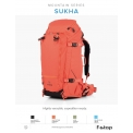 "F-Stop Sukha Nasturtium - <p>The F-Stop Sukha is a backpack with plenty of storage capacity and many possibilities. With a capacity of up to 70 liters and four internal Internal Camera Unit, also known as ICUs, anchorages this is a perfect base for your equipment. it is easy to attach an extra bag or accessories to the bag thanks to its compatibility with the Gatekeeper system of F-Stop and the addition of two galvanized steel D-rings. Under the tab ""Accessories"" you will not only optional ICUs but Gatekeepers.<br /><br />For active people with a lot of stuff<br />The Sukha F-Stop is designed with an active user in mind: to attach a tripod, snowboarding, walking or sleeping bags are fine to the bag. The internal aluminum frame provides excellent support and maximum comfort when you're on an expedition. Your camera equipment is accessible through a breathable back panel made of molded EVA. The opening at the top provides access to the internal main compartment. The additional side pockets with zippers reliable over the</p>"