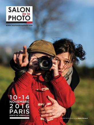 Affiche du Salon de la Photo 2016 vu par Bálint Pörneczi