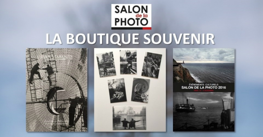 Visuel boutique du salon de la photo 2016