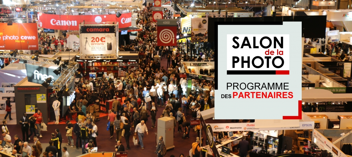 Les animations des partenaires du salon de la photo 2016 for Salon de la photo 2016