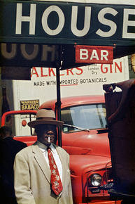 Photographie de Saul Leiter collection MEP